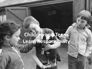 The Farm Teaches Responsibility Slideshow